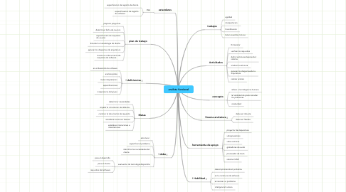 Mind Map: analista funcional