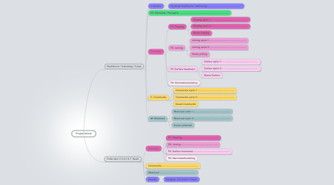 Mind Map: Project format