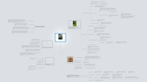 Mind Map: Will Our Tap Run Dry One Day?