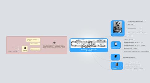 Mind Map: Nocturnes op.9, n°1  & op.9, n°2 (F.  Chopin)