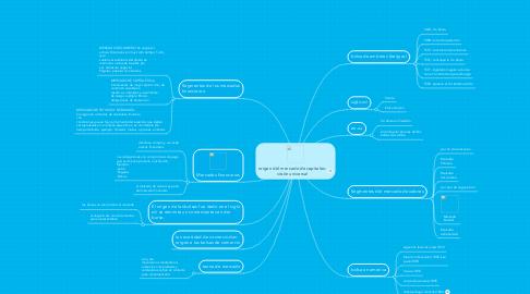 Mind Map: origen del mercado de capitales: visión universal