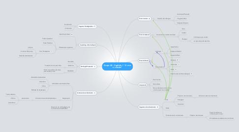 """Mind Map: Grupo 40 - Capitúlo I """" O erro e a ilusão"""""""