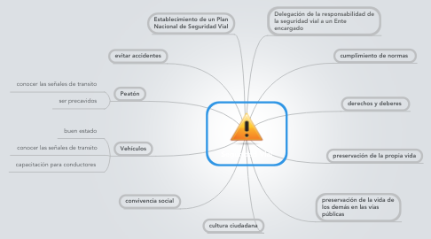 Mind Map: Seguridad Vial