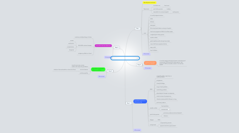 Mind Map: A breathless pregnancy Session 1