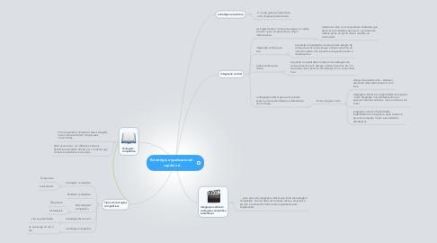 Mind Map: Estratégia organizacional - capitulo 6.