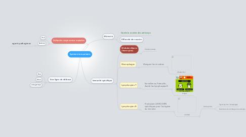 Mind Map: Système immunitaire
