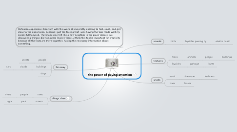 Mind Map: the power of paying attention