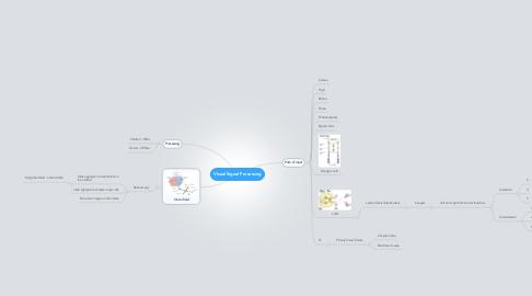 Mind Map: Visual Signal Processing