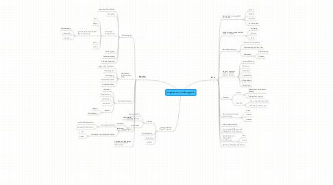 Mind Map: Anglizismen und Denglisch
