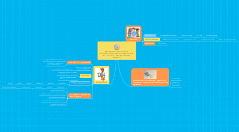 Mind Map: PROCESO METODOLOGICO DE INTERVENCION INDIVIDUAL Y FAMILIAR POR: NATALY BULLA-CAROLINA MORALES MENDOZA