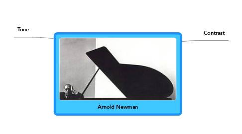 Mind Map: Arnold Newman