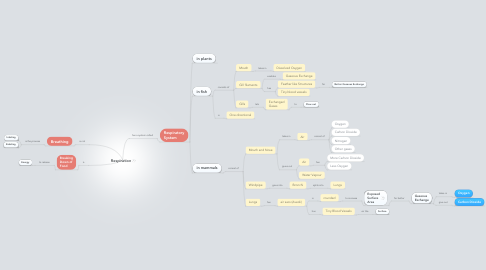 Mind Map: Respiration