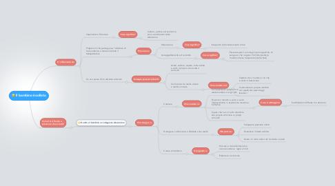Mind Map: Il bambino incollato