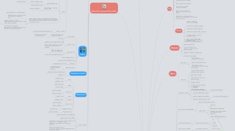"""Mind Map: Проект """"Социальные сети-работа будущего"""".Видео курс."""