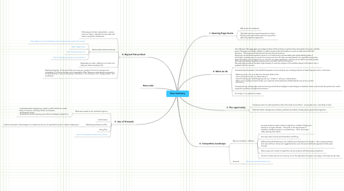 Mind Map: Exec Summary