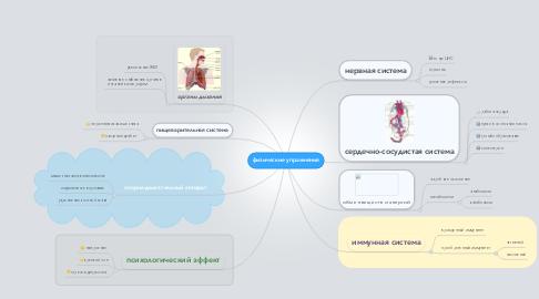 Mind Map: физические упражнения