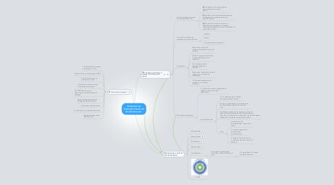 Mind Map: Perspetiva de desenvolvimento de Bronfenbrenner
