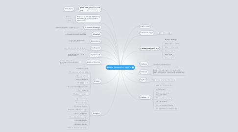 Mind Map: POLSKA PIERWSZYCH PISTÓW
