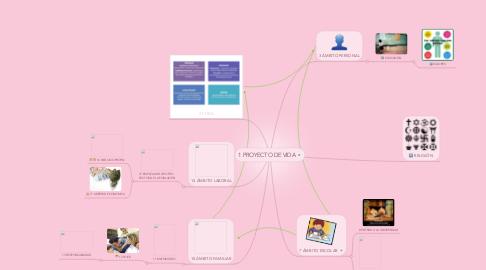 Mind Map: 1 PROYECTO DE VIDA