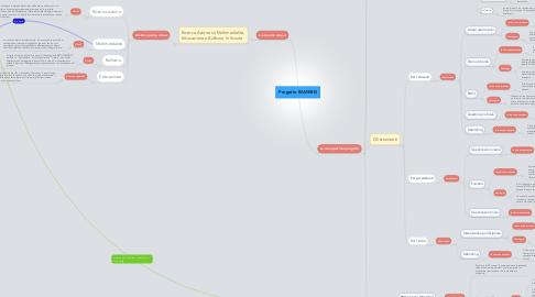 Mind Map: Progetto RAMEBIS