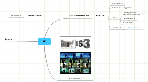 Mind Map: IIS3