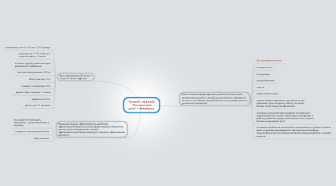 """Mind Map: Тренинг оффлайн """"Личностный рост""""г.Челябинск"""