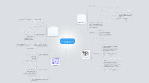 Mind Map: Métodos alternativos al desarrollo de los sistemas de información.