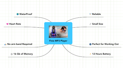 Mind Map: Finis MP3 Player