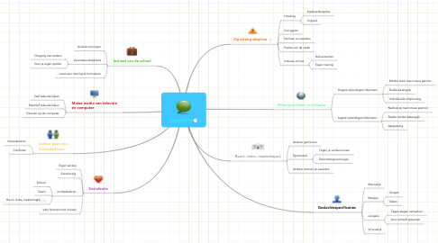 Mind Map: Socialisatie