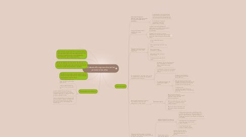 Mind Map: El desarrollo cognoscitivo en los primeros tres años