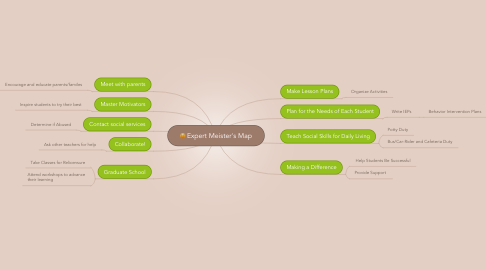 Mind Map: Expert Meister's Map