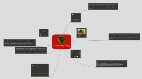 Mind Map: La biología en mi vida cotidiana