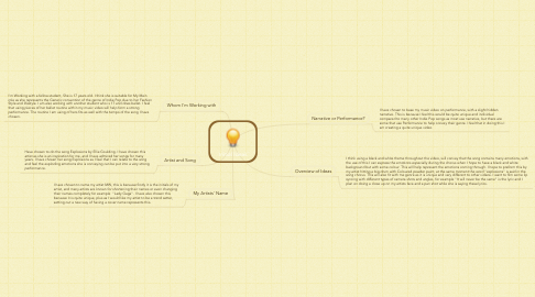 Mind Map: Initial Ideas