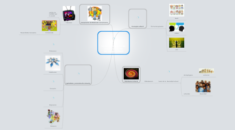 Mind Map: La comunicación en las transformaciones del campo cultural