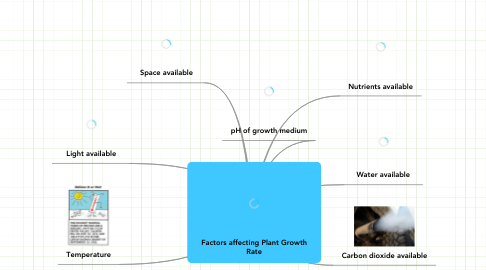 Mind Map: Factors affecting Plant Growth Rate