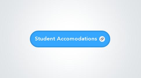 Mind Map: Student Accomodations
