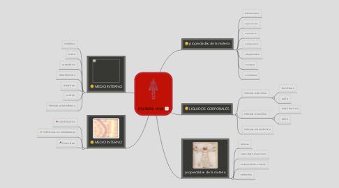Mind Map: materia viva