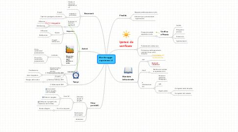 Mind Map: Monitoraggio  esperienze L2