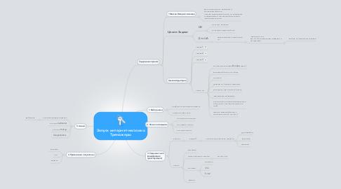 Mind Map: Запуск интернет-магазина Тренажеры