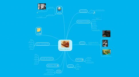 Mind Map: Género Narrativo