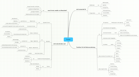 Mind Map: Furnier