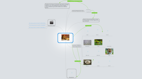 Mind Map: Reproduction of Species