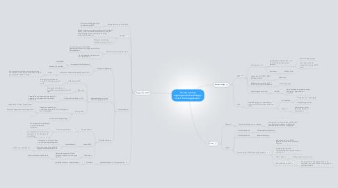 Mind Map: Sociaal overleg: regeringsonderhandelingen  m.b.t. het brugpensioen