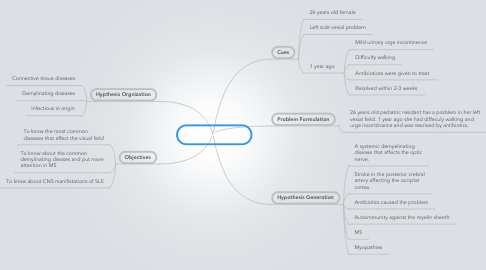 Mind Map: A near Accidant