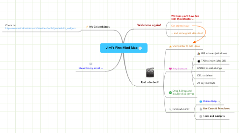 Mind Map: Jimi's First Mind Map