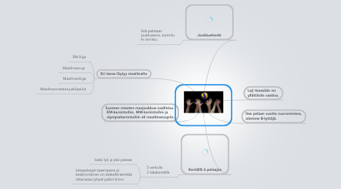 Mind Map: LENTOPALLO
