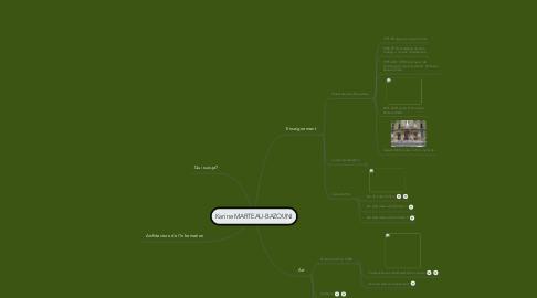 Mind Map: Karine MARTEAU-BAZOUNI