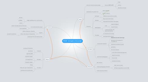 Mind Map: FOAD - émergence d'un projet