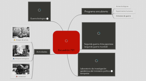 Mind Map: Escuadrón 731