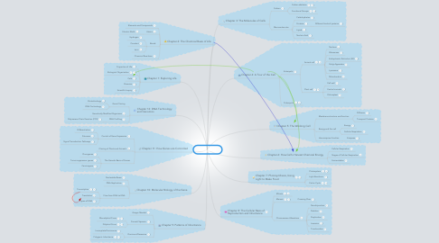 Mind Map: Biology 101